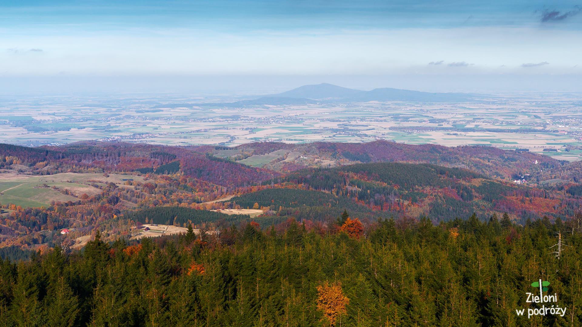 Widok z Wielkiej Sowy