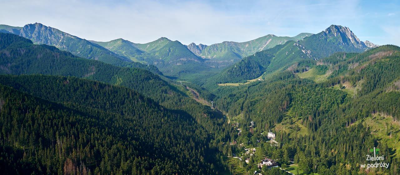 Panorama z Nosala