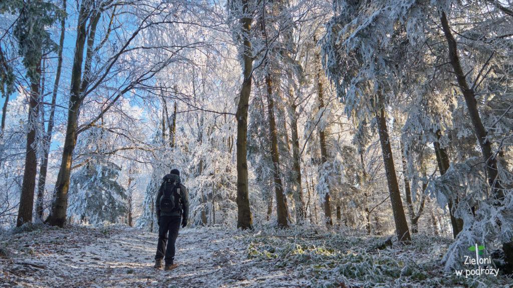 Zima w drodze na Jaworze