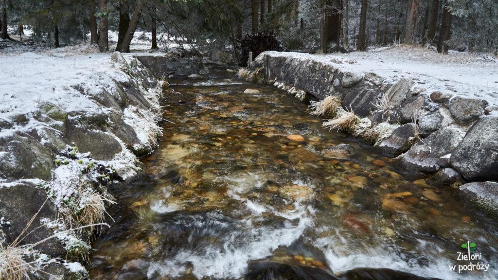 Mijamy potok Bystra