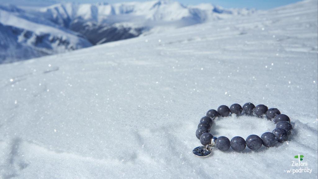 A to nasza górska biżuteria w śniegu. Fajna, co?