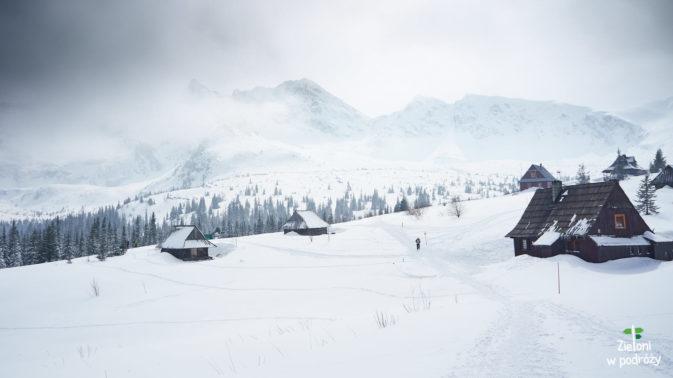 Hala Gąsienicowa zimą