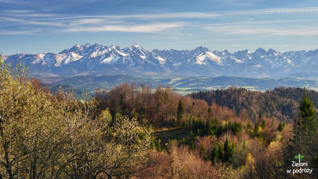 Tatry z Gorców. Piękne widoki na koniec