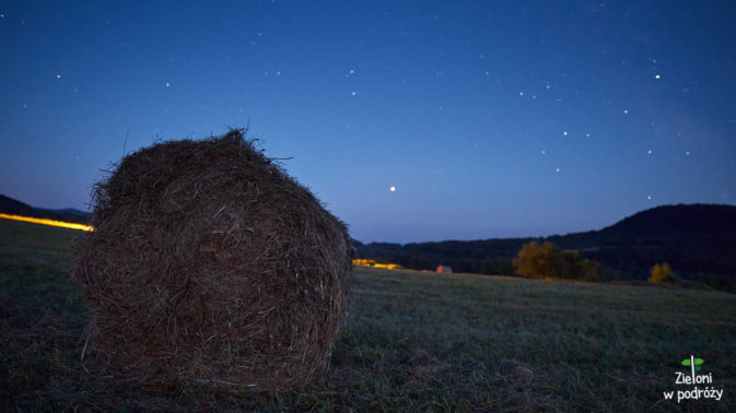 Nocą w Bieszczadach