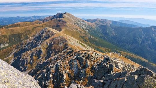 Chopok w Tatrach Niżnych