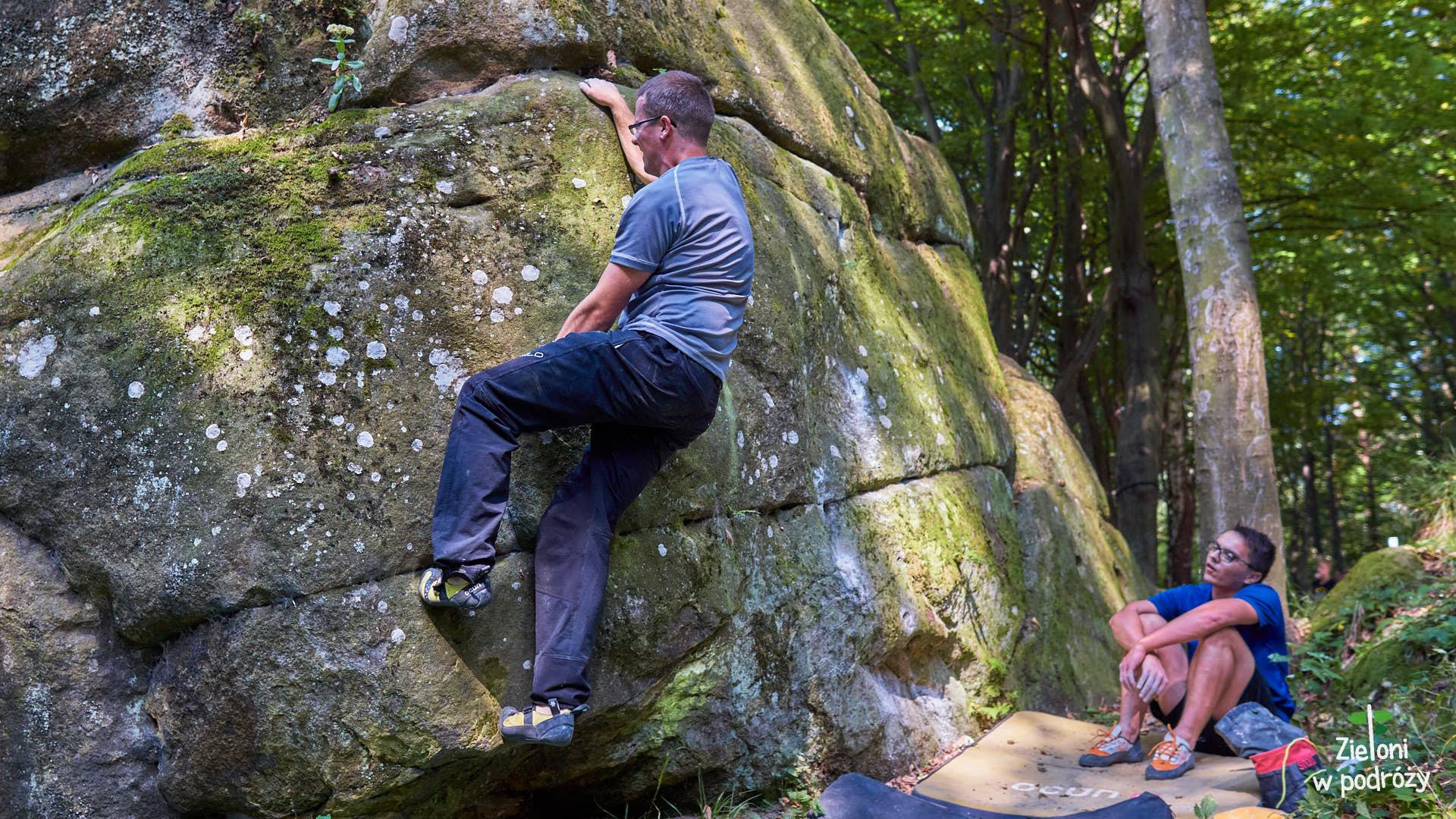 Zmagania na boulderach