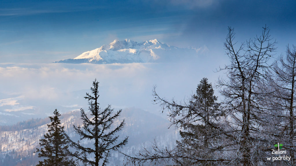 Tatry oglądane z Przehyby. Uwielbiam ten widok