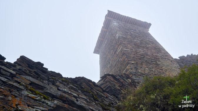 Jedna z wież w Twierdzy Keselo