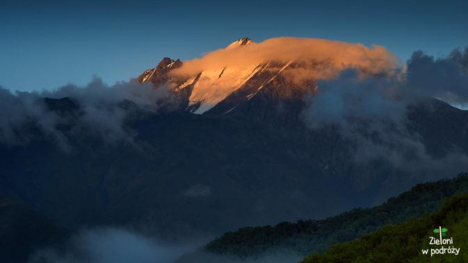 Tebulos Mta, czyli najwyższy szczyt Kaukazu Wschodniego