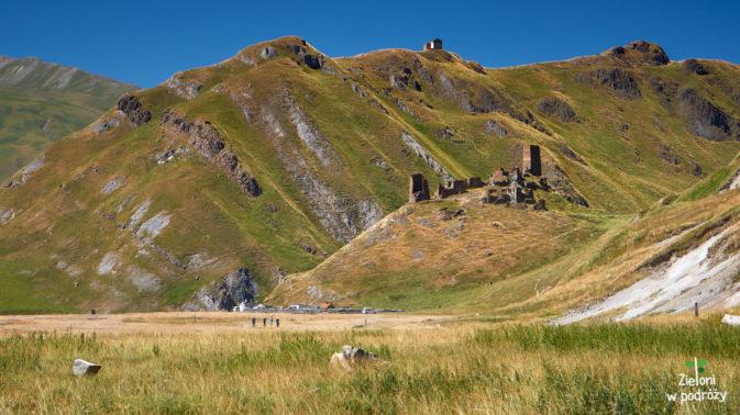 Ruiny Zakagori na wzgórzu