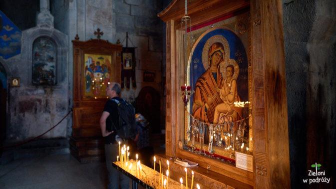 Wnętrze klasztoru Cminda Sameba