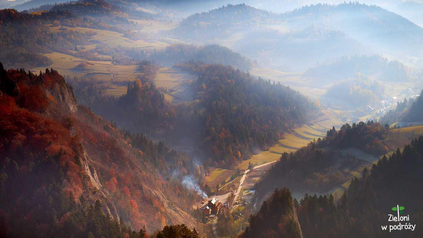 Szlaki w Pieninach – miejsca, które warto zobaczyć