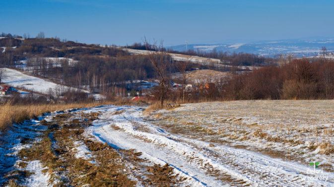 Droga przez pola i łąki