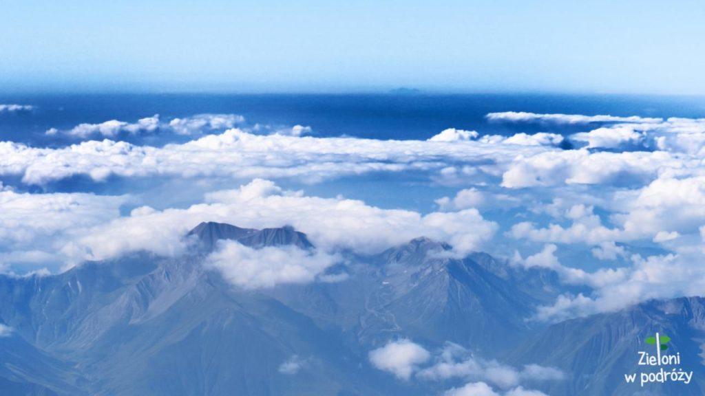 Aragac widziany z Kazbeku