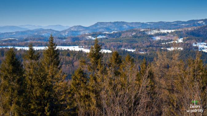 Kolejne widoki ze szczytu