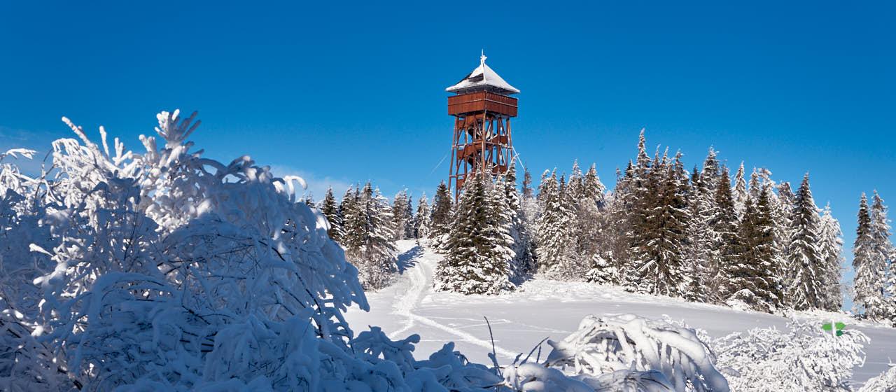 Wieże widokowe w Gorcach