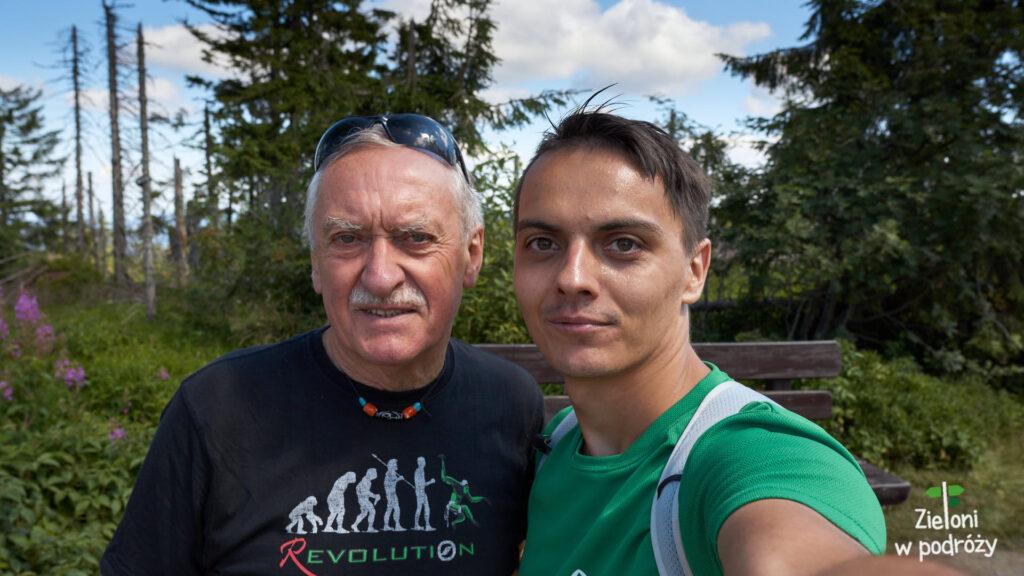 Krzysztof Wielicki i ja