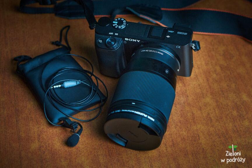 Sony a6300 i Sigma 16 mm