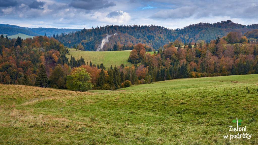 Jesień w Pieninach wygląda niesamowicie