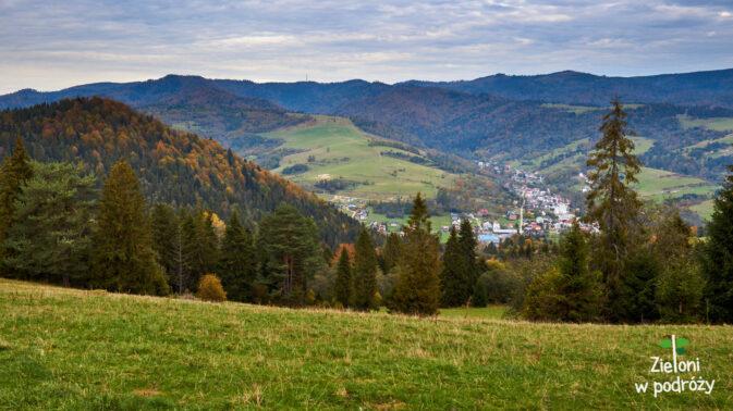 Tak wyglądają okolice przełęczy pod Huściawą
