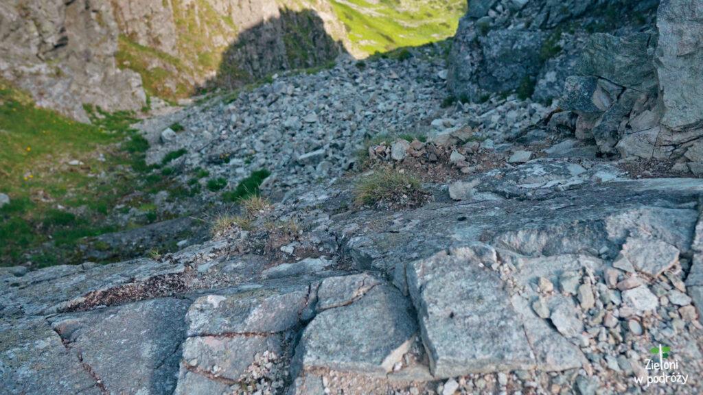 Eksponowane fragmenty szlaku