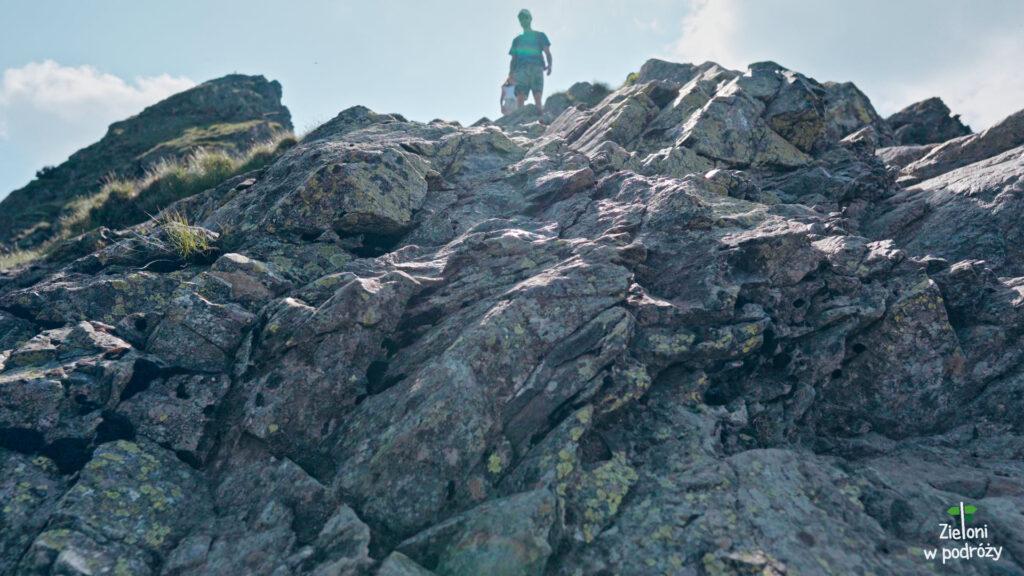 Kolejny, ciekawy próg skalny